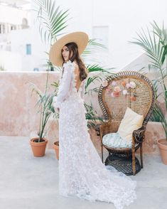 I was going through our gallery and found this dreamy imag Wedding Ceremony, Reception, Peacock Chair, Wedding Chairs, Bride, Wedding Dresses, Gallery, Lace, Beauty
