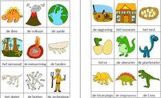 Dit woordweb in het thema dinos kun je downloaden op de website van Juf Milou. Preschool Crafts, Homeschool, Paper Crafts, Projects, Blog, Website, Special Education, World, Log Projects