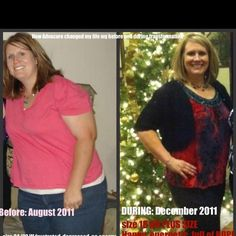 How AdvoCare has helped me on my weightloss journey so far!