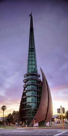 Swan Bells in Perth Australia (the most isolated capitol in the world)--my fave building in one of my fave Aussie cities