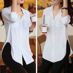 Blouse Styles, Blouse Designs, Classy Outfits, Stylish Outfits, Blouses For Women, Pants For Women, Look Fashion, Casual Looks, Fashion Dresses