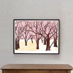 """Poster """"Sakura Forest"""""""