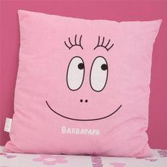Pink Barbapapa Smile Cushion