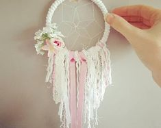 Express Your Individuality With Boho Home Decor Dream Catcher For Car, Dream Catcher Boho, Dream Catchers, Boho Chic, Shabby Chic, Flower Nursery, Boho Baby Shower, Unique Wedding Gifts, Gold Fabric