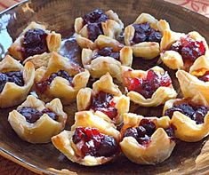 Wood Fired Christmas Cranberry and Brie Parcels - Wood Fired Oven Recipe