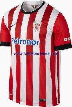 Nueva camiseta del Athletic de Bilbao 1st 2015 baratas