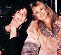 Stevie and Kenny G, mid-80s (presumably Rock a Little era for A Thousand Days)