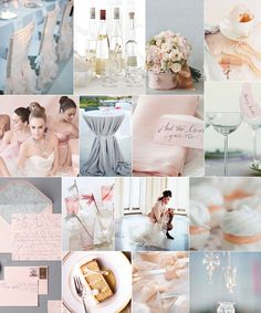 Ballet Pink Inspiration Board-Camille Styles Events