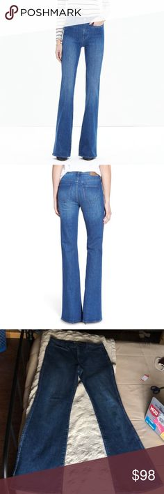 NWOT Madewell Flea Market Flare Jeans Never washed or worn 😊Inseam: 32 inches I have a bunch of items in my closet so feel free to bundle🛍 I ship Monday-Saturday each day by 4pm📦💌 If making an offer, please be reasonable as Poshmark takes a hefty 20% of all items over $15 or a flat fee of $2.95 if the item is under $15😊 Smoke free home🚭 Always sending good vibes and happy poshing🌞❤️✨ Madewell Jeans Flare & Wide Leg