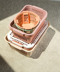"mpdrolet: "" Exalted Object (effulgence), 2013 Luke Libera Moore "" by olive Design Set, Color Patterns, Color Schemes, Palette, Plastic Laundry Basket, Laundry Baskets, Washing Basket, Plastic Baskets, Plastic Storage"