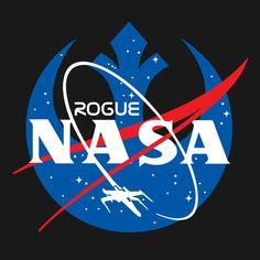 Rogue One NASA Star Wars T-Shirt