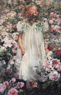 """Leon Frederic  1894  """""""