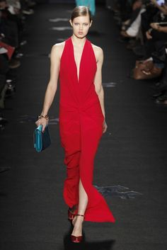 Red Hot. DVF RTW Fall '12