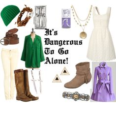 The Legend of Zelda, created by favourite-fictional-fashions on Polyvore