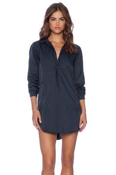 a2c2e8c8c22 CP SHADES Teton Tunic Dress in Ink Revolve Clothing, Capsule Wardrobe
