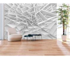 Papier peint moderne White Spider's Web