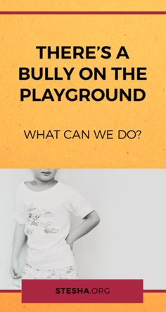 What to do when there's a bully on the playground? Pretty Cool, Help Me, Stand Up, Parenting Hacks, Bullying, Playground, Kindergarten, Teacher, School