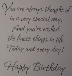 22 Ideas birthday card sayings for friends messages wish quotes Birthday Verses For Cards, Birthday Card Messages, Funny Happy Birthday Wishes, Birthday Wishes For Boyfriend, Friend Birthday Quotes, Birthday Card Sayings, Birthday Sentiments, Happy Birthday Cards, Birthday Greetings