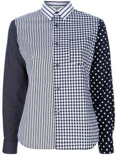 COMME DES GARÇONS SHIRT patchwork shirt -