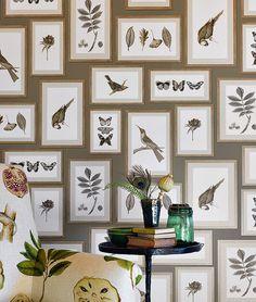 Птицы в тенденциях дизайна - орнитологические орнаменты в оригинальном декорировании помещения