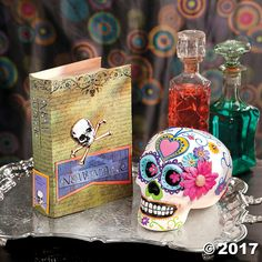 Celebrate the Day of the Dead with authenticity by adding this festive DIY project to your decorations. With just a few art supplies and a healthy dose of ...
