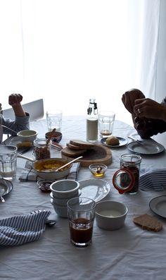 Saturday Breakfast by Little Upside Down Cake