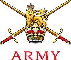 British Army Badge Graduated Wallpaper