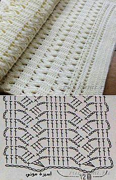 Watch This Video Beauteous Finished Make Crochet Look Like Knitting (the Waistcoat Stitch) Ideas. Amazing Make Crochet Look Like Knitting (the Waistcoat Stitch) Ideas. Filet Crochet, Poncho Au Crochet, Crochet Diagram, Crochet Chart, Crochet Scarves, Crochet Motif, Baby Blanket Crochet, Crochet Baby, Knit Crochet