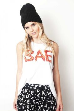 Bae-con Muscle T-Shirt http://shop.nylon.com/collections/whats-new/products/bae-con-muscle-t-shirt #NYLONshop