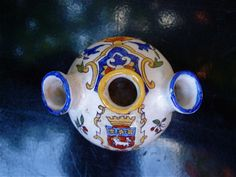 Quimper French Faience Vase