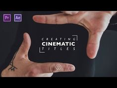 How To Create an Amazing Intro Title in Adobe Premiere Pro + Responsive Time - YouTube