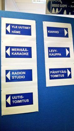 Opastusta Yle Tampereen avointen ovien päivässä 1.11.2013 #Tampere