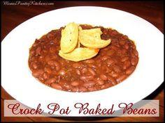 Crock Pot Baked Beans http://www.momspantrykitchen.com/crock-pot-baked-beans-2.html