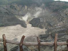 Tangkuban Prahu crater, West Java