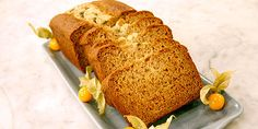 Banana Bread - these made into muffin tops with Choco chips are sooo good! Banana Bread No Eggs, Healthy Banana Bread, Banana Bread Recipes, Healthy Dessert Recipes, Cake Recipes, Desserts, Yummy Recipes, Food Network Recipes, Cooking Recipes