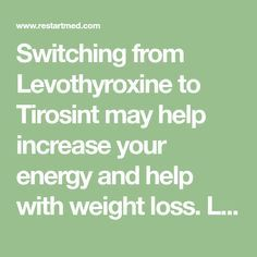 Tirosint vs Levothyroxine: The Case for Switching Thyroid Medication Switching from Levothyroxine to Tirosint may help increase your energy and help with weight loss. Learn how I use Tirosint and why it may help you here. Thyroid Issues, Thyroid Disease, Thyroid Problems, Thyroid Health, Thyroid Diet, Thyroid Cancer, Thyroid Hormone, Health Tips, Health And Wellness