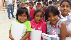 Ellas recibieron útiles escolares el año pasado. Este año, puedes favorecer a que otros niños se vean beneficiados.  Visita nuestra página de FB y entérate de cómo puedes hacerlo  https://www.facebook.com/ClubActivo2030Chihuahua/