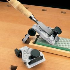 Buy Chisel and Plane Blade Sharpening Guide at Woodcraft.com