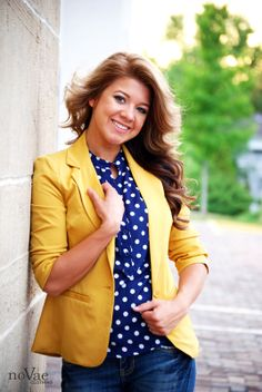 Mustard blazer - closet requirement