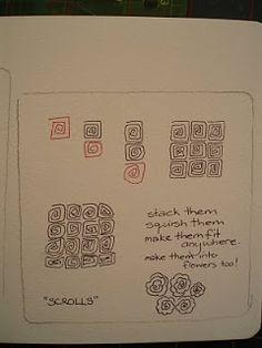 Jane Monk Studio - Longarm Machine Quilting & Teaching the Art of Zentangle®: Jane's new Zentangle Patterns