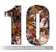 In 2011, Tamika Catchings celebrated 10 seasons with one team, the Indiana Fever.