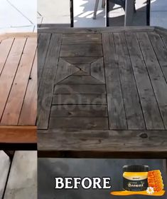 💥Save Money On This Pinterest Only Offer!💥 Effortlessly removes years of wax and dirt buildup to restore the look of your old furniture. This all-purpose Beewax doesn't only clean your wooden furniture and cabinets but also polishes them to give them that natural shine! Works to remove scuff marks, grease, grime, and dirt from painted or stained surfaces. Safe to use on all types of wood to shine, clean, polish, and restore. 100% Organic.