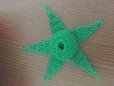 ถักกลีบเลี้ยงกุหลาบ Crochet Rose