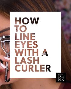 How to Line Eyes with a Lash Curler #blinkbeauty #makeuptutorial #eyeliner #beautytutorial