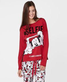Camiseta selfie Minnie - OYSHO