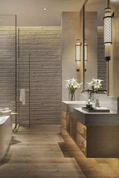 We are wild about marble for the bathroom. Marble is a great natural element that can be added to your bathroom in 2021 and beyond. You deserve to make your bathroom feel good . Keep reading as we share 2021 bathroom design trends that include color, tile and flooring. Hadley Court Interior Design Blog by Central Texas Interior Designer, Leslie Hendrix Wood