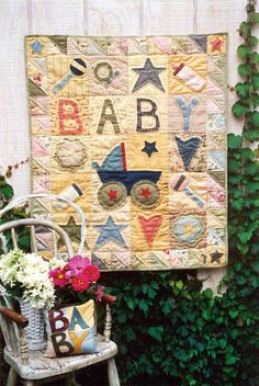 Country Threads :: Baby Quilt Patterns :: Baby-Baby Quilt Pattern