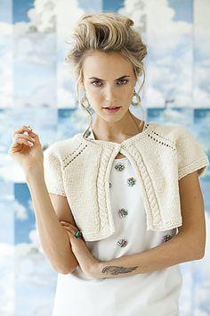 Eyelet Raglan Cardi pattern by Candace Eisner Strick, Vogue Knitting Early Fall 2013