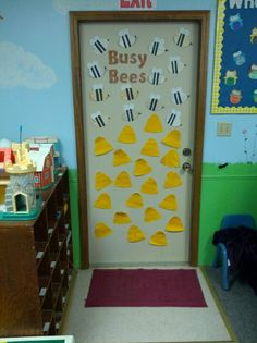 Bee Spring Bulletin Board