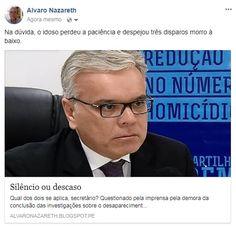 Alvaro Nazareth: Movimento / Qual dos dois se aplica, secretário?